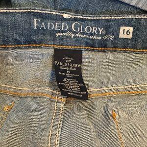 Faded Glory Shorts - NWT Women's Faded Glory Jean Shorts